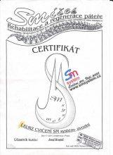 SM systém - certifikát